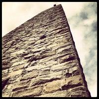 Photo taken at Bennington Monument by Jim B. on 4/25/2012