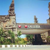 Photo taken at Mal Bali Galeria by Gung I. on 7/27/2012