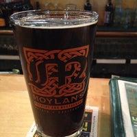 Photo taken at Moylan's Brewery & Restaurant by Aru on 8/25/2012