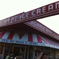 Photo taken at Bonnie Brae Ice Cream by Chris M. on 4/23/2012