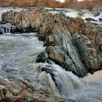 Photo taken at Great Falls Park by Kym T. on 3/18/2012
