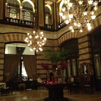 Photo taken at Pera Palace Hotel Jumeirah by Alexander K. on 4/13/2012