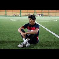 Photo taken at Al Hamra Soccer Field by Aziz A. on 8/20/2012