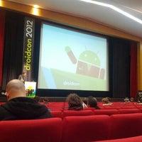 Photo taken at droidcon by Sebastian on 3/14/2012