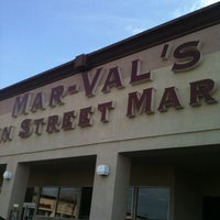 Photo taken at Mar-Val's Main Street Market by Reg S. on 3/10/2012