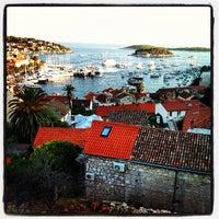 Photo taken at Otok Hvar by Juan N. on 8/21/2012