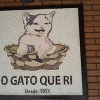 Foto tirada no(a) O Gato que Ri por Eliana R. em 8/12/2012