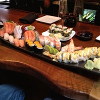 Photo taken at The Cultured Pearl Restaurant & Sushi Bar by Karen W. on 6/10/2012
