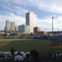 Photo taken at ONEOK Field by Adrianna B. on 5/11/2012