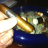 Photo taken at Buckhead Cigar Club by Rich M. on 5/1/2012