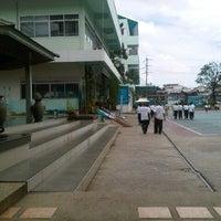 Photo taken at Streesmutprakan School by Wazin C. on 9/8/2012