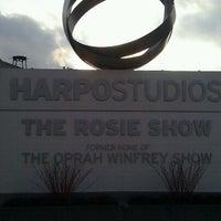 Photo taken at Harpo Studios by Akos A. on 2/21/2012