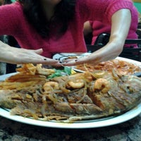 Photo taken at Alegrias Seafood Chicago by Cecilia N. on 4/28/2012