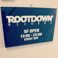 Photo taken at Root Down Records by Mash R. on 8/4/2012