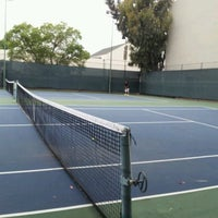 Photo taken at Tennis Courts by Vishal R. on 6/2/2012