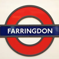Photo taken at Farringdon London Underground Station by Steven E. on 9/10/2012