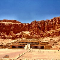 Photo taken at Mortuary Temple of Hatshepsut by CRATEinteriors on 7/10/2012