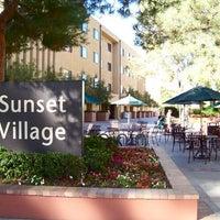 Photo taken at UCLA Courtside (Sunset Village) by Ben B. on 2/5/2012