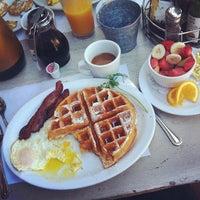Photo taken at Jinky's Cafe Santa Monica by Josh F. on 7/19/2012