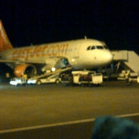 Photo taken at Easyjet Flight by Anna K. on 2/13/2012