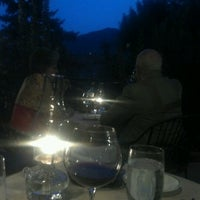 Photo taken at Craftwood Inn by Maida C. on 8/18/2012