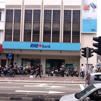Photo taken at RHB Bank by Rody on 3/8/2012
