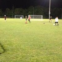Photo taken at Wickham Park Soccer Fields by Shannon C. on 3/8/2012