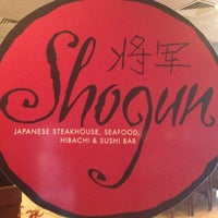 Photo taken at Shogun Japanese Restaurant by Kevin V. on 7/27/2012