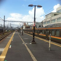 Photo taken at Oku Station by tinkerbell a. on 8/12/2012
