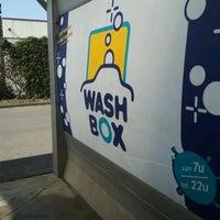 Photo taken at Wash Box by Cristina M. on 3/20/2012