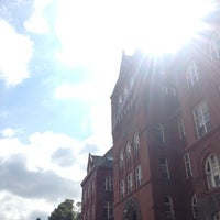 Photo taken at Science Hall by Anna L. on 9/2/2012