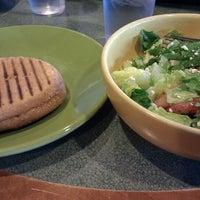 Photo taken at Paradise Bakery by Amanda B. on 3/10/2012