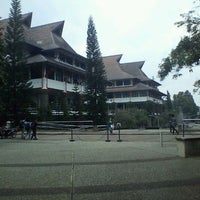Photo taken at Institut Teknologi Bandung (ITB) by astrid d. on 3/29/2012