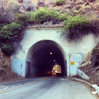 Photo taken at Back to the Future & Who Framed Roger Rabbit Tunnel by Dave V. on 9/9/2012