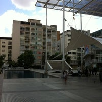 Photo taken at Plaza Los Palos Grandes by Enrique C. on 2/11/2012