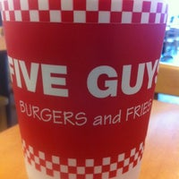 Photo taken at Five Guys by Philip B. on 2/29/2012
