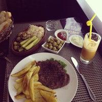 Photo taken at Park Cafe by Rahbarli Z. on 5/18/2012