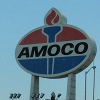 Photo taken at World's Largest Amoco Sign by Christopher on 6/24/2012
