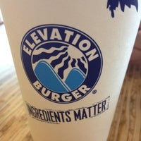Photo taken at Elevation Burger by Eric C. on 5/26/2012