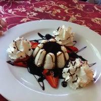 Photo taken at Pizzeria Santalucia by Nina M. on 4/27/2012
