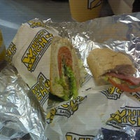 Photo taken at Which Wich? Superior Sandwiches by Jackson on 3/4/2012