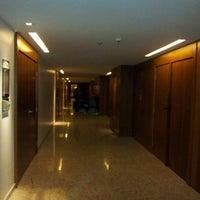 Photo taken at Radisson Hotel Maceio by Valdemar S. on 7/19/2012