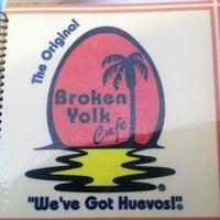 Photo taken at Broken Yolk Cafe by Meghan F. on 3/24/2012