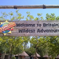 Photo taken at Chessington World of Adventures Resort by James S. on 7/25/2012