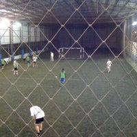 Photo taken at Estádio Passo D'Areia (Zequinha) by Andi F. on 7/27/2012