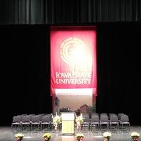 Photo taken at Stephens Auditorium by Norah C. on 5/4/2012