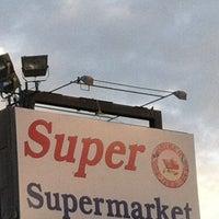 Photo taken at Super Supermarket by Alberto S. on 4/17/2012