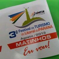 Photo taken at 2° Festival de Turismo do Litoral do Paraná by Alexane S. on 8/19/2012