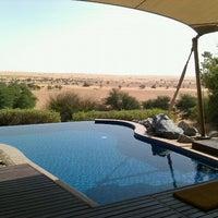 Photo taken at Al Maha Desert Resort & Spa by Hari P. on 2/15/2012