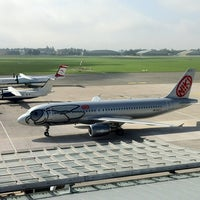 Photo taken at Blue Danube Airport Linz (LNZ) by Hawkeye on 9/7/2012